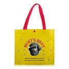 BURT'S BEES 蜜蜂爺爺 LOGO環保購物袋(33X10X29.5cm)-新版【美麗購】