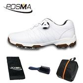 高爾夫球鞋 女士鞋子 防滑防水 自動旋轉鞋帶鞋 GSH082WKHASPN