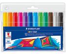 施德樓 快樂學園 加寬型環保彩繪筆 12色MS340WP12