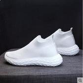 襪子鞋女網紅女鞋網面新款飛織潮鞋透氣高筒小白鞋軟底運動鞋聖誕交換禮物