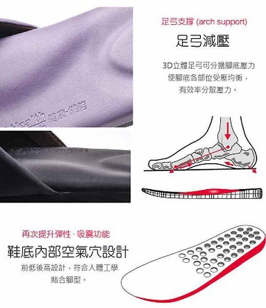 (e鞋院)健康機能乳膠拖鞋-紫