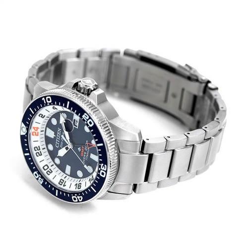 免運費 日本正規貨 公民 PROMASTER 海軍GMT潛水員 太陽能手錶 男士手錶 BJ7111-86L