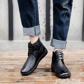 雨鞋 韓版潮流廚房鞋男時尚防滑雨鞋防水工作水鞋短筒釣魚低筒鞋  潔思米