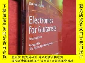 二手書博民逛書店Electronics罕見for Guitarists (小16