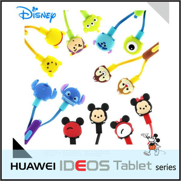 ☆正版授權 迪士尼 TSUM TSUM 可愛造型入耳式線控耳機 華為 HUAWEI IDEOS S7 Slim/S7 Tablet