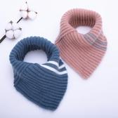 嬰兒圍巾冬季套脖男童女童三角巾6個月-4歲1秋冬兒童圍脖寶寶圍巾  潮流小鋪