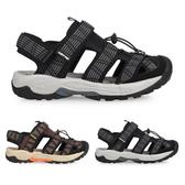 LOTTO 男排水護趾涼鞋(休閒 海邊 戲水 水陸鞋≡體院≡ LT0AMS165