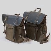 相機後背包-時尚復古戶外旅遊雙肩攝影包2色71a50[時尚巴黎]
