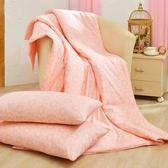 《朵朵仙子》 吸濕排汗法式天絲涼被三件組 (150x195cm) 買涼被就送同款枕套2入 台灣製作
