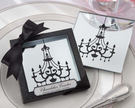 鏡子吊燈相框玻璃杯墊 (兩入裝) 婚禮小物 送客小禮 婚禮佈置/50組