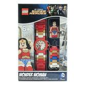 免運費【 樂高積木 LEGO 】兒童手錶 - 超級英雄 神力女超人╭★ JOYBUS玩具百貨