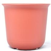 Luder 塑質素陶盆8吋 紅