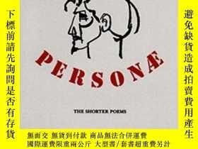二手書博民逛書店罕見PersonaeY364682 Ezra Pound New Directions 出版1990