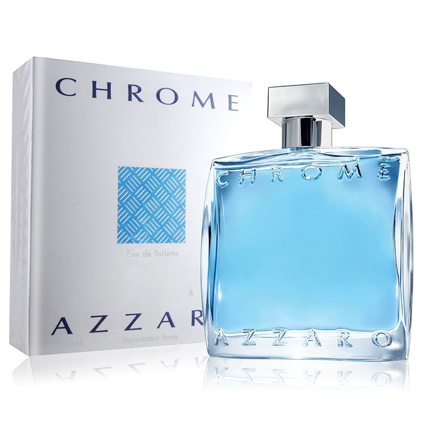 AZZARO Chrome 海洋鉻元素男性淡香水(100ml) EDT-國際航空版【美麗購】