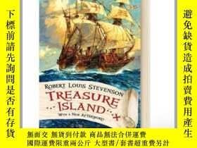 二手書博民逛書店金銀島罕見英文原版 Treasure Island Y21066
