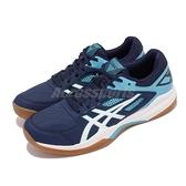 Asics 羽毛球鞋 Gel-Court Hunter 男鞋 藍 膠底 室內運動鞋 【ACS】 1071A020401