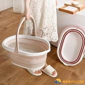 折疊桶大容量旅行便攜式洗澡儲水洗車水桶【勇敢者戶外】