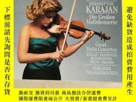 二手書博民逛書店MUTTER罕見& KARAJAN Great Violin C