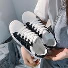 貝殼鞋 帆布鞋女小白鞋2021年新款夏季透氣百搭貝殼白鞋夏款運動板鞋子夏 歐歐