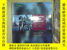 二手書博民逛書店TECHNOLOGY罕見WAR AND IDENTITIES A