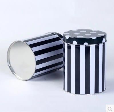 [協貿國際]糖果茶葉圓形收納鐵盒2個價