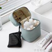 北歐ins化妝包網紅少女軟妹簡約便攜大容量多功能大號旅行收納包 卡布奇諾