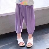 女童長褲夏裝防蚊褲兒童薄款夏裝夏季長褲洋氣時髦寶寶時尚外穿褲子【快速出貨八折下殺】