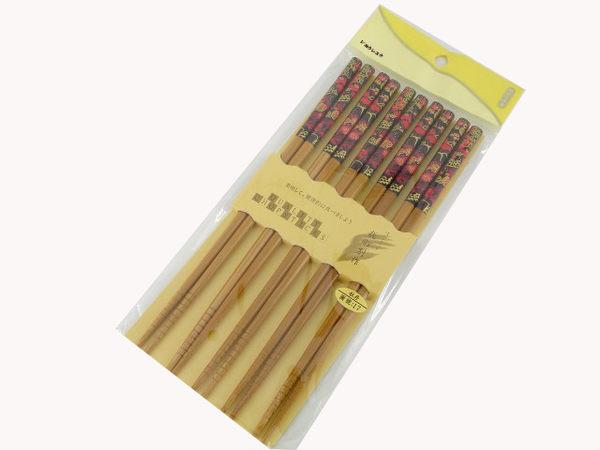 【好市吉居家生活】上龍 A級筷5雙-牡丹17 筷子 TL128717