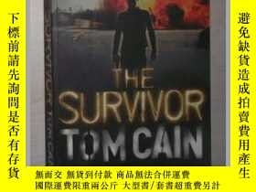 二手書博民逛書店英文原版罕見The Survivor by Tom Cain 著
