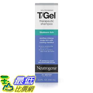 [8美國直購] 洗髮露 Neutrogena T/Gel Therapeutic Stubborn Itch Shampoo with 2% Coal Tar, Anti-Dandruff