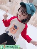 女童長袖T恤 女童長袖T恤純棉卡通春秋裝寶寶打底衫t韓版洋氣兒童上衣2020 麗人印象 免運