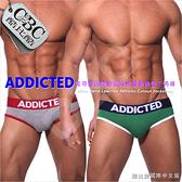 ADDICTED寬帶超低腰動感純棉運動後空男三角褲 激凸性感 型男狂潮  JS0004