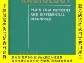 二手書博民逛書店Chest罕見Radiology: Plain Film Patterns and Differential Di