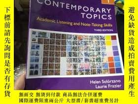 二手書博民逛書店Contemporary罕見Topics 1: Academic