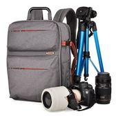 相機後背包-戶外防水多功能專業雙肩攝影包71a35[時尚巴黎]