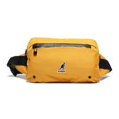KANGOL 黃色 腰包 帆布 英國 電繡LOGO 袋鼠 (布魯克林) 6955300260