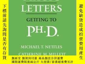 二手書博民逛書店Three罕見Magic Letters: Getting To