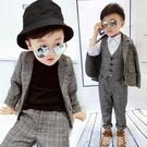 兒童西裝 兒童西裝套裝春秋洋氣男童帥氣西服韓版男孩禮服男寶寶英倫小西裝 韓菲兒