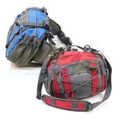 【山水網路商城】RHINO 犀牛健行腰包G350 腰包 單肩包 側背包 水壺腰包 可放iPhone6PLUS 紅/藍