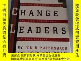 二手書博民逛書店REAL罕見CHANGE LEADERSY218789