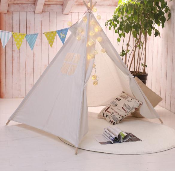 降價了!兒童室內帳篷 印第安兒童帳篷室內游戲屋男女孩小帳篷玩具 「免運」