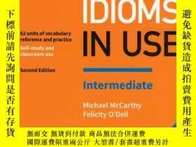 全新書博民逛書店Englishidioms in use intermediat