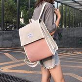 雙肩包森系書包女學生韓版校園學院風背包尼龍雙肩包女新款百搭時尚全館免運 二度3C
