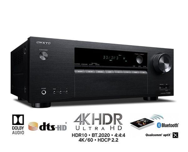 新竹推薦音響店《名展音響》 ONKYO TX-SR383 7.2聲道4K影音擴大機(贈門市禮券)