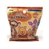 日本 入浴劑 沐浴劑 泡泡球 沐浴球-黃維尼 (0736) 單入 柑橘香-超級BABY