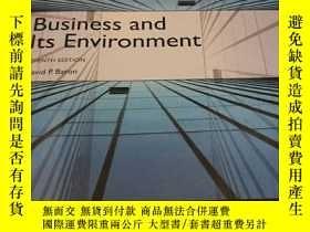 二手書博民逛書店Business罕見and lts Environment(原版