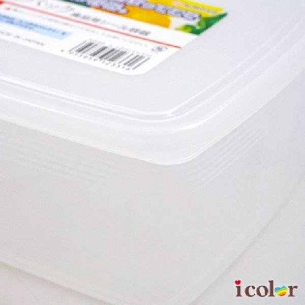i color 日本製 刻度3L方形保存容器/保鮮盒