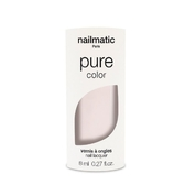 Nailmatic 純色生物基經典指甲油-JEANNE-亮白玫瑰色 8ml