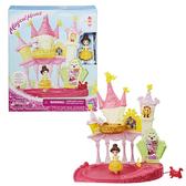 玩具反斗城 迪士尼迷你公主轉轉樂園貝兒城堡