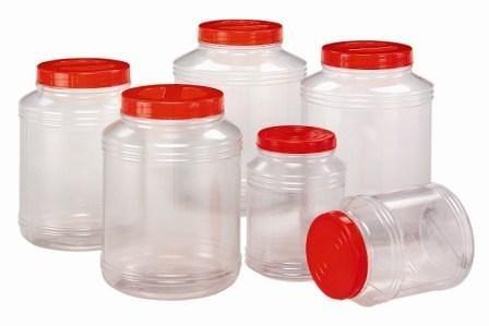 **好幫手生活雜鋪** 華成透明筒4公升---收納罐.收納桶.零食罐.塑膠筒.塑膠桶